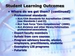 student learning outcomes1