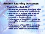 student learning outcomes2
