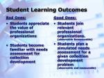 student learning outcomes4
