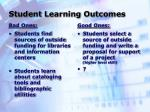 student learning outcomes6