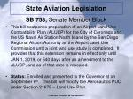 state aviation legislation2