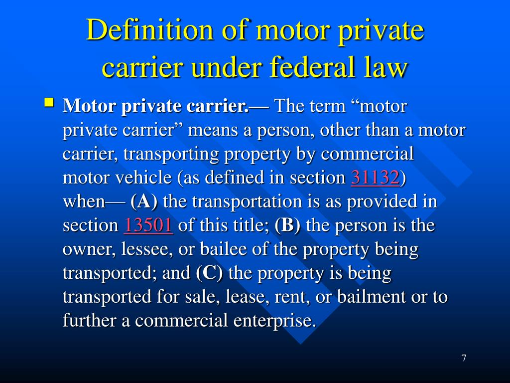 TRANSPORTATION CODE CHAPTER 648. FOREIGN COMMERCIAL MOTOR ...
