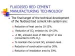 fluidised bed cement manufacturing technology2