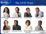 the ucd team