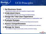 ucd principles
