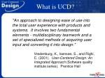 what is ucd