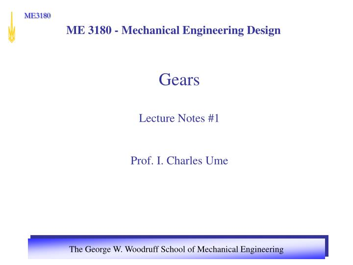 me 3180 mechanical engineering design n.
