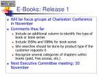 e books release 1