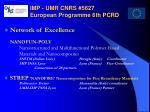 imp umr cnrs 5627 european programme 6th pcrd