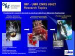 imp umr cnrs 5627 research topics
