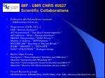 imp umr cnrs 5627 scientific collaborations1