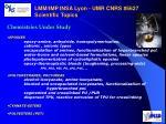 lmm imp insa lyon umr cnrs 5627 scientific topics