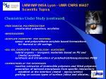 lmm imp insa lyon umr cnrs 5627 scientific topics1