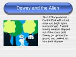 dewey and the alien1