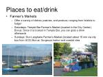 places to eat drink1