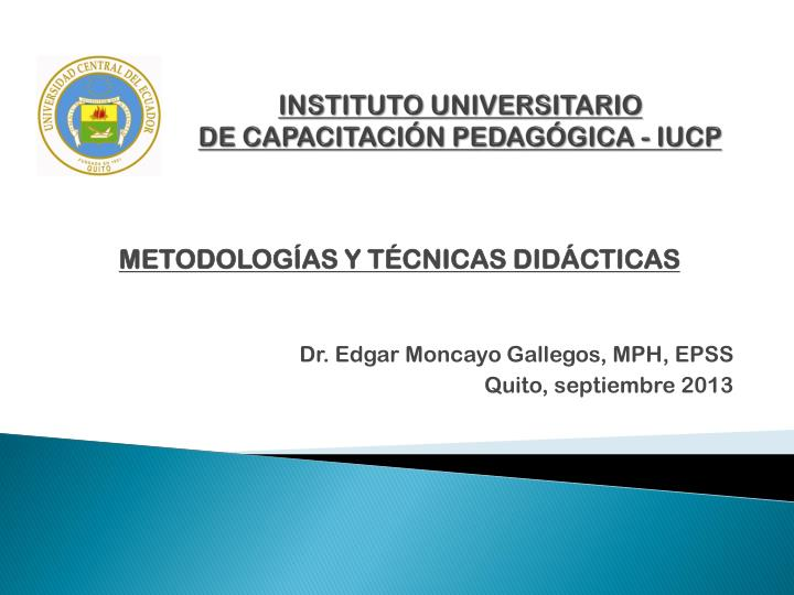 instituto universitario de capacitaci n pedag gica iucp n.