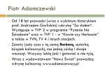piotr adamczewski3