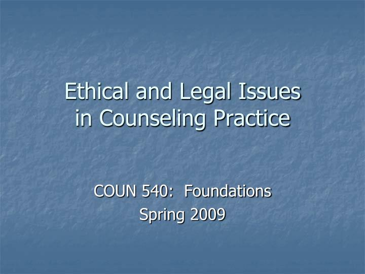 ethical ethics and american counseling association All apa members are bound by the ethical code of the medical profession, specifically defined in the american psychiatric association's principles of medical ethics with annotations especially applicable to psychiatry (principles.