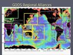 goos regional alliances