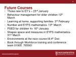 future courses