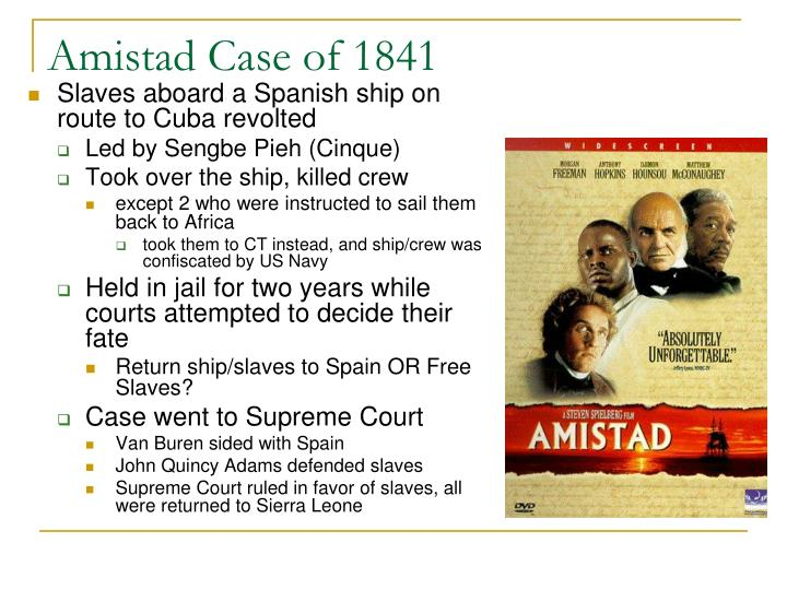 amistad case essay Unlike most editing & proofreading services, we edit for everything: grammar, spelling, punctuation, idea flow, sentence structure, & more get started now.