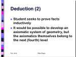 deduction 2