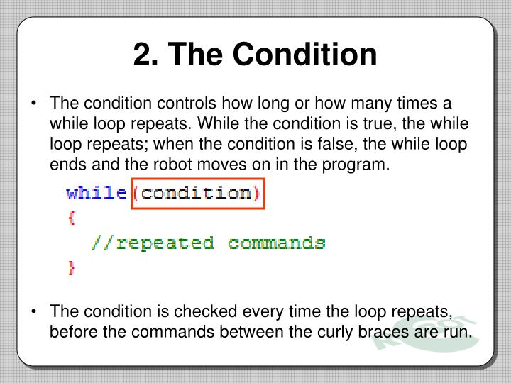 2. The Condition