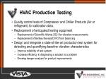 hvac production testing