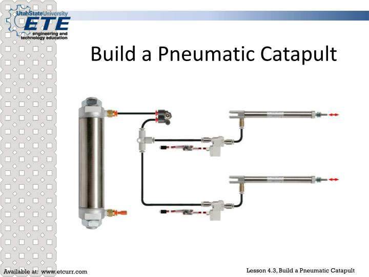 build a pneumatic catapult n.