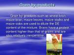 grain by products