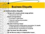 business etiquette2