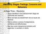 internship stages feelings concerns and behaviors3