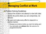 managing conflict at work5