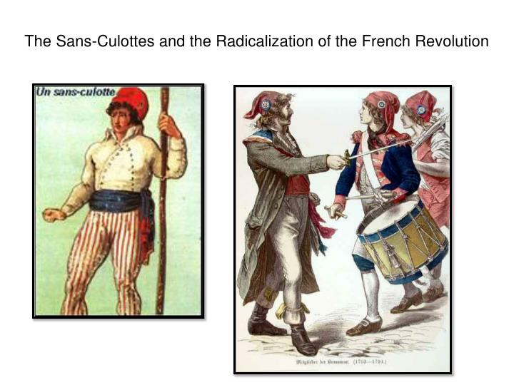 the sans culottes and the radicalization of the french revolution n.
