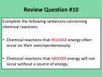 review question 10