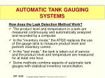 automatic tank gauging systems1
