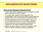 groundwater monitoring3
