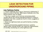 leak detection for underground piping5