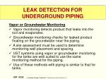 leak detection for underground piping7