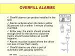 overfill alarms