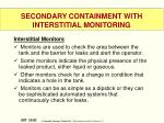 secondary containment with interstitial monitoring2
