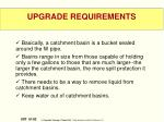 upgrade requirements7