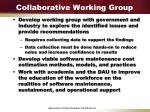 collaborative working group