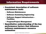 information requirements1