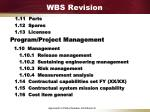 wbs revision6