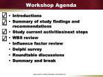 workshop agenda1