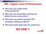 vmi higher level of performance14