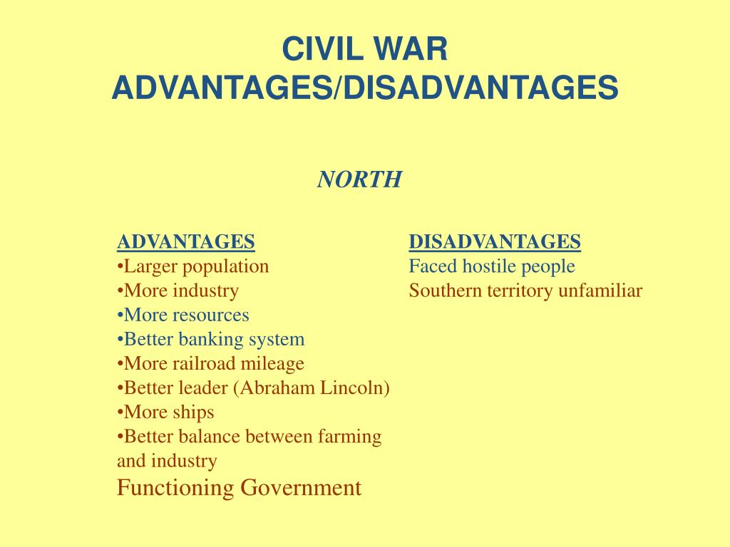 what are the disadvantages of war