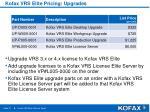 kofax vrs elite pricing upgrades