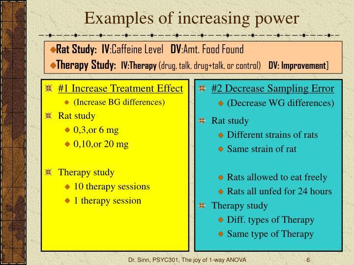 #1 Increase Treatment Effect